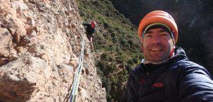 """""""Mi lugar favorito en la montaña es el planeta Tierra"""", Adriano Martín"""