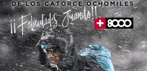 20 aniversario de los 14 Ochomiles de Juanito Oiarzabal