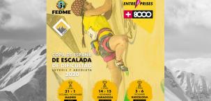 Aplazada la primera prueba Copa de España de Escalada de Dificultad 2020